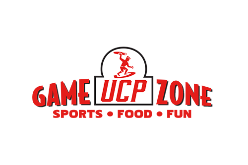 UCP Gamezone Logo with link to Website and  and image of Gamezone Location