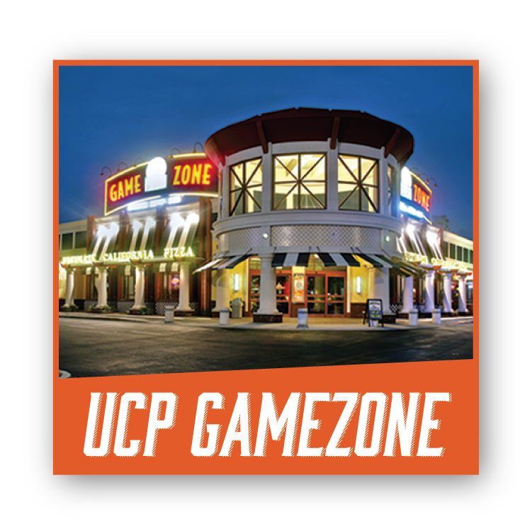 UCP Gamezone Ultimate California Pizza
